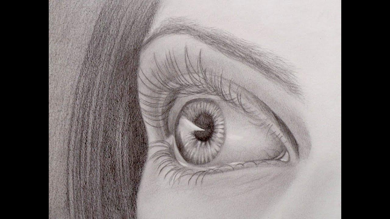 C mo dibujar un ojo en perspectiva arte divierte youtube - Animales con personas apareandose ...