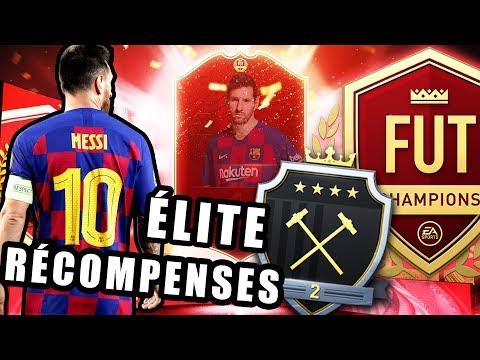 FIFA 20 - RÉCOMPENSES ÉLITE 2 [ON VEUT MESSI]