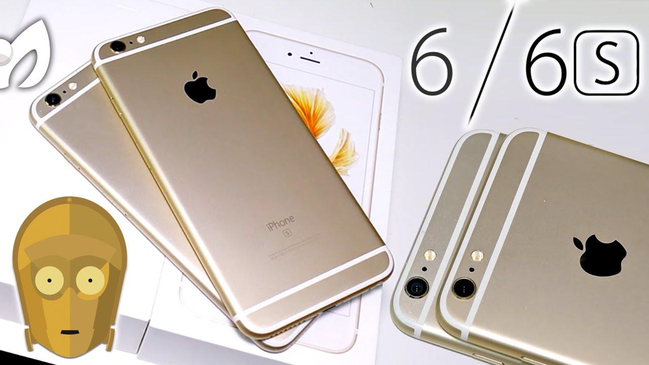 e6589ed9a8a DORADO MÁS INTENSO: iPhone 6s Plus vs iPhone 6 Plus Unboxing (Ver en 4K) -  YouTube