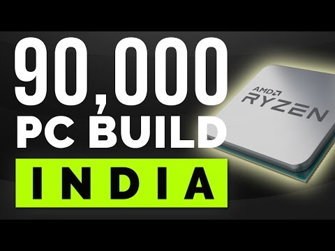 90,000 Rs Price Indian Gaming PC. [PC Build India 2017]