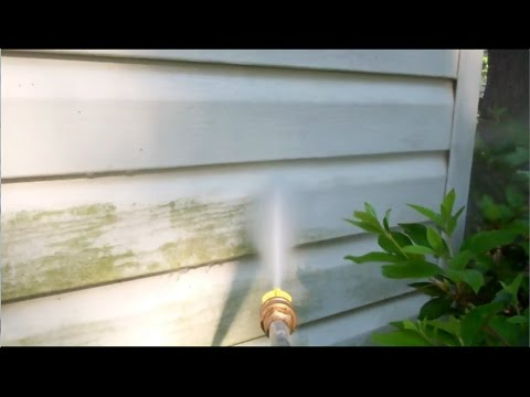 Pressure Washing my Vinyl Siding - Part 2