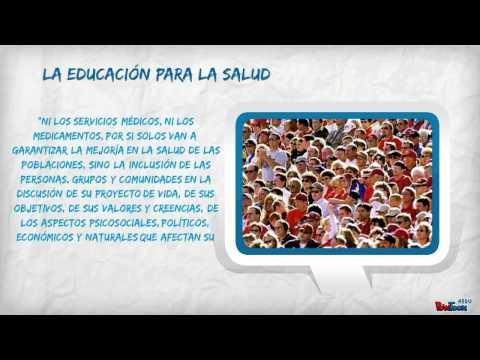 EDUCACIÓN EN SALUD - CONCEPTOS BÁSICOS