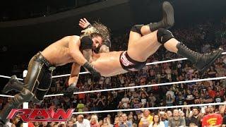 Randy Orton vs. Seth Rollins: Raw, May 11, 2015