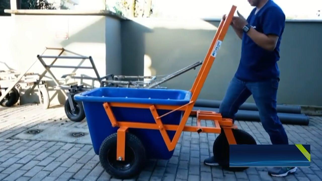Строительная тележка для перевозки емкости с раствором бетон в гусеве калининградской области купить
