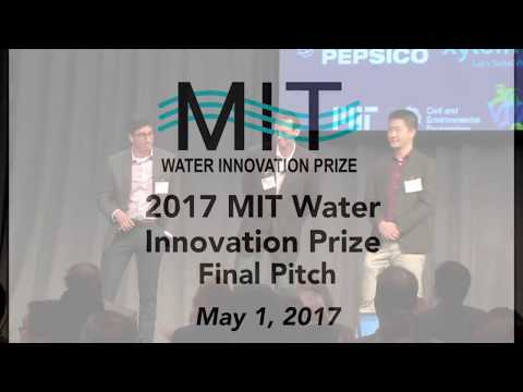 2017 MIT Water Innovation Prize Final Pitch Event - PipeGuard