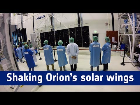 Shaking Orion's solar wings