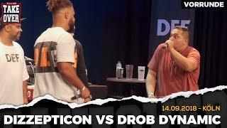 Dizzepticon vs. Drob Dynamic Takeover Freestyle Contest | Köln 14.09.18 (VR 4/4)