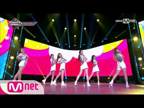 [Favorite - Party Time] KPOP TV Show   M COUNTDOWN 170720 EP.533