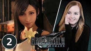 Seventh Heaven - Final Fantasy 7 Remake Gameplay Walkthrough Part 2 | Suzy Lu