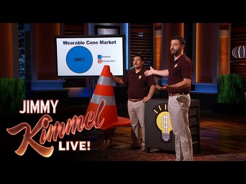 Jimmy Kimmel Pitches to Shark Tank