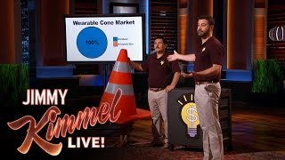 "Jimmy Kimmel Pitches to Shark Tank(Jimmy visits the set of ""Shark Tank"" to pitch his latest and greatest ideas to the sharks. SUBSCRIBE to get the latest #KIMMEL: http://bit.ly/JKLSubscribe Watch ..., 2015-11-10T08:30:00.000Z)"