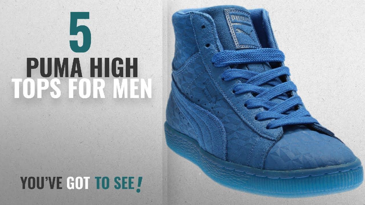 blue high top pumas - WinWin Atlantic