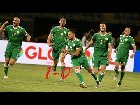 الجزائر والسنغال 1 0 تعليق حفيظ دراجي . but youcef belaili match Algérie Sénégal