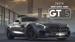 Mercedes-AMG GT S - Teste WebMotors