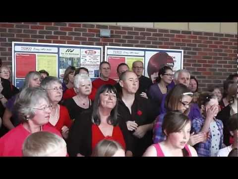 The Big Sing.....Maldon Cancer Research Charity Event 2012.....Happy Day