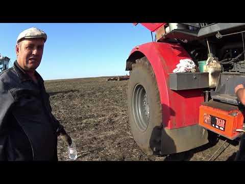 Трактор к744р4 культивация паров. (Сезон 2019)