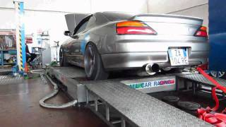 My Nissan S15 on the dyno