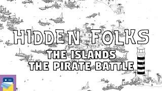 Hidden Folks: The Islands & Pirate Battle Walkthrough Guide & Gameplay (by Adriaan de Jongh) screenshot 4