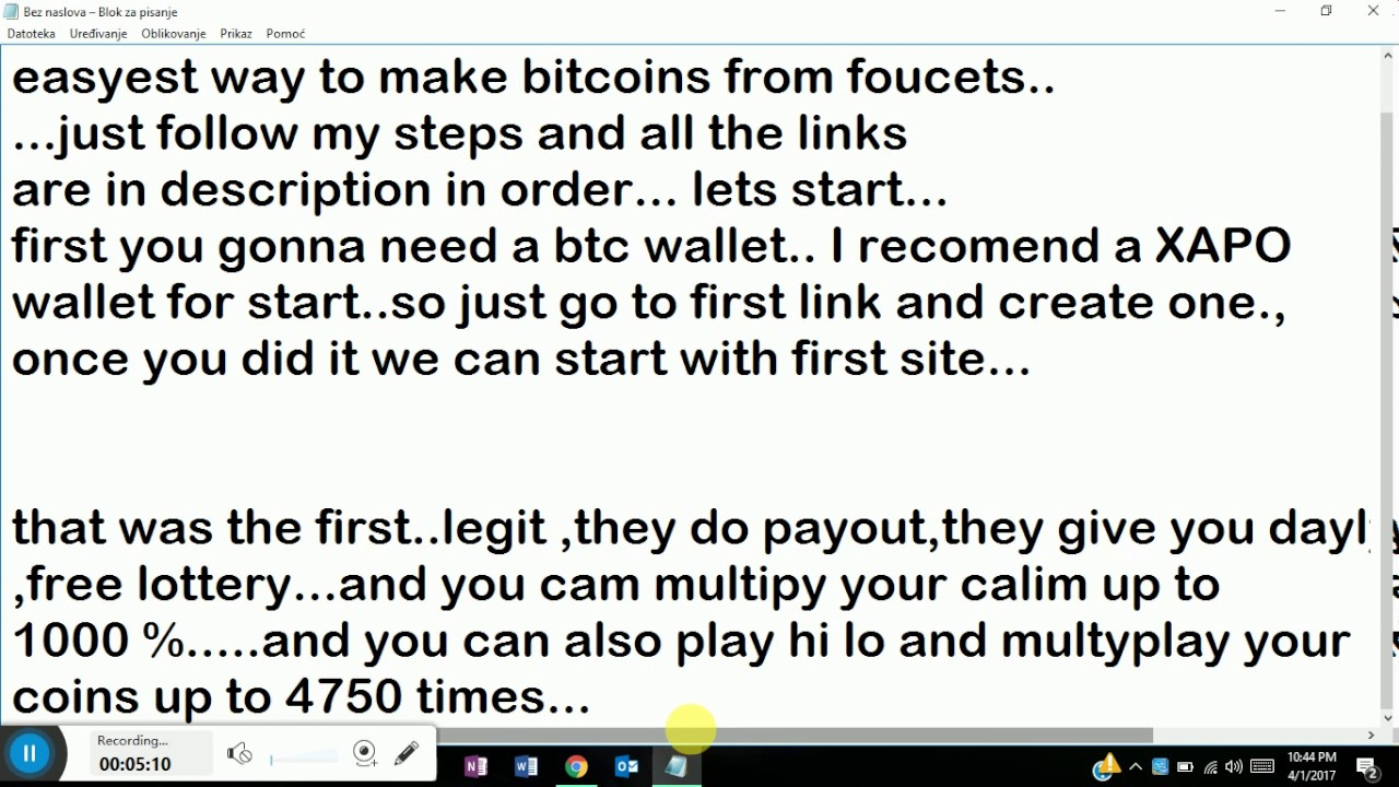 best legit paying bitcoin faucets 2017 and trusted bitcoin wallet ...