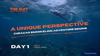 A unique Curaçao Snorkeling Adventure Continues | Day 1 |  The Suit Curacao Vlog