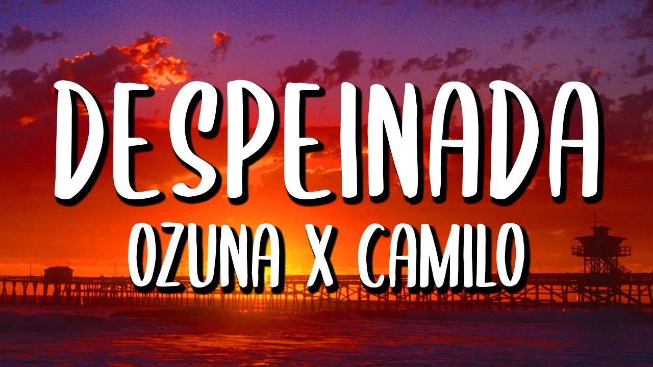 Ozuna x Camilo - Despeinada (Letra/Lyrics)