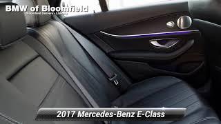Used 2017 Mercedes-Benz E-Clas…