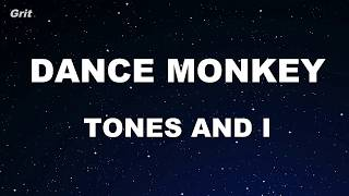 Karaoke♬ DANCE MONKEY - TONES AND I 【No Guide Melody】 Instrumental