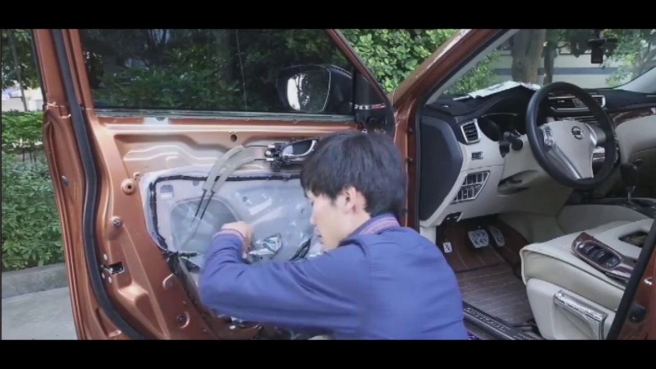 Nissan Qashqai automatic window/mirror module - YouTube