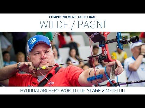 Reo Wilde v Sergio Pagni – Compound Men's Gold Final | Medellin 2016
