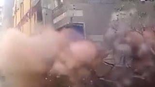В Каире многоэтажный дом рухнул на глазах у жильцов