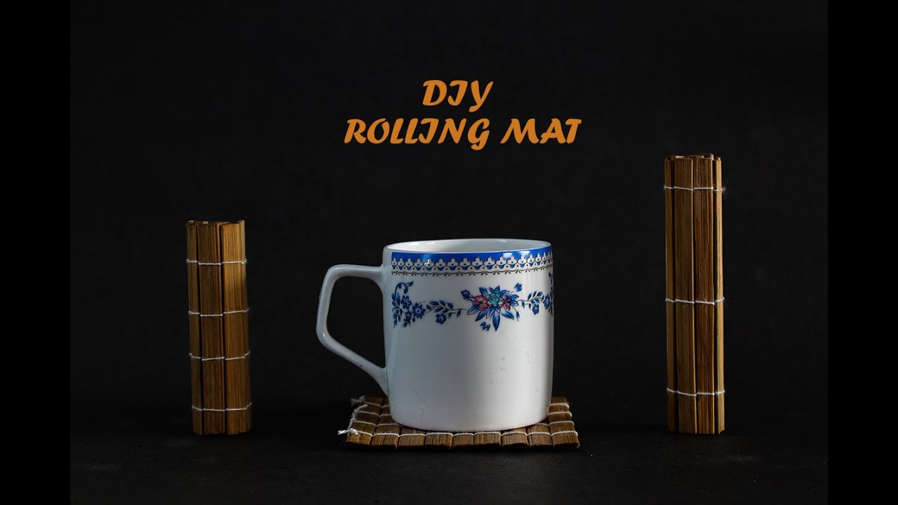Diy How to make rolling mat - YouTube