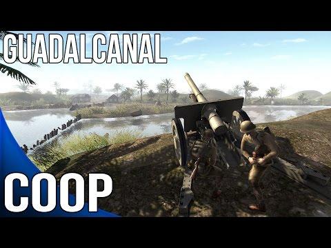 Men of War Assault Squad 2 - Sir hinkels Guadalcanal - Coop Part 1