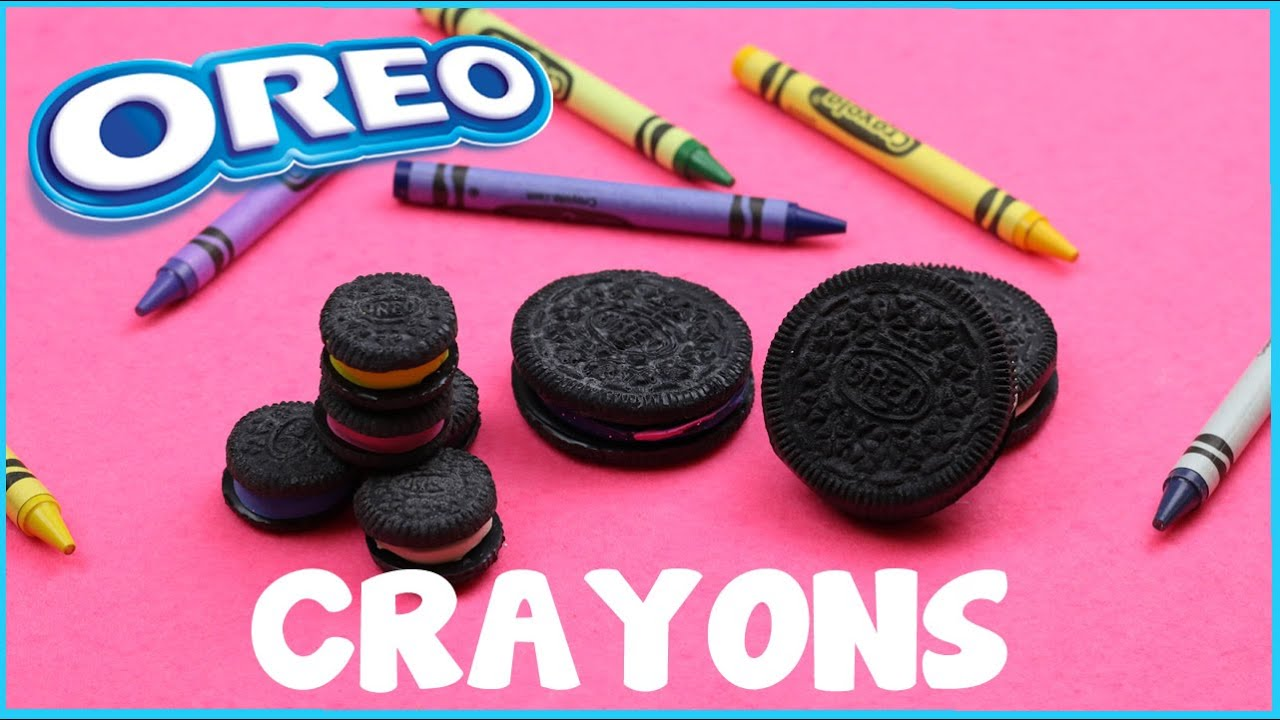 Diy crafts how to make oreo cookie crayons 3 diy ways for Cool things to craft