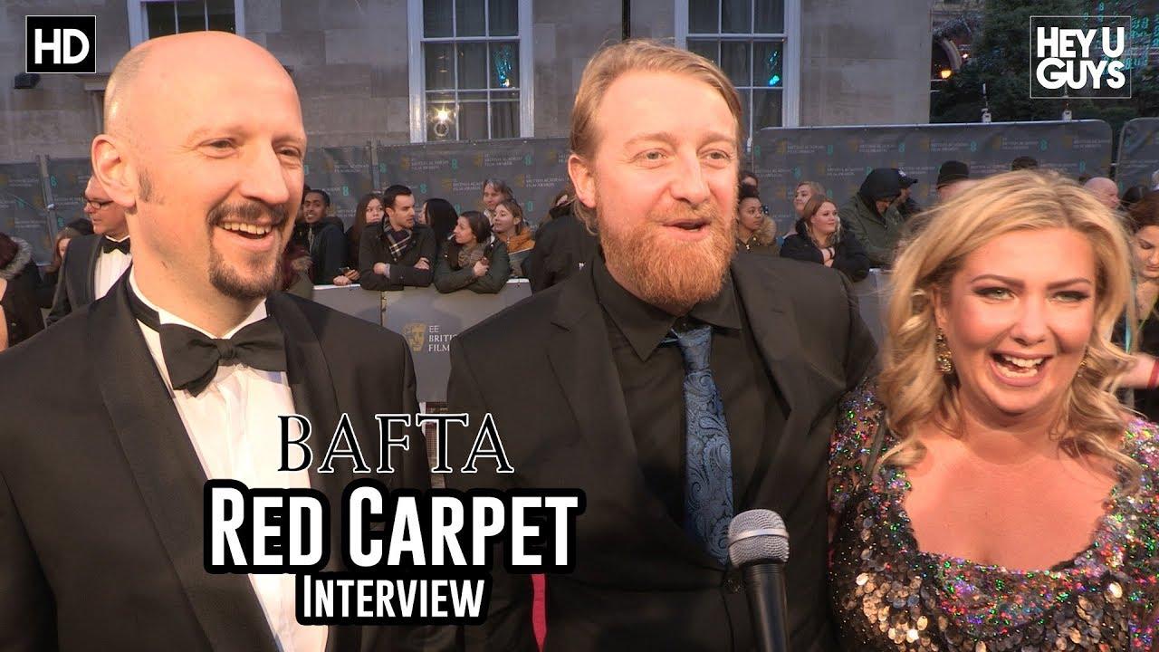Loving Vincent Filmmakers Interview - - BAFTA Awards 2018 Red Carpet Interview