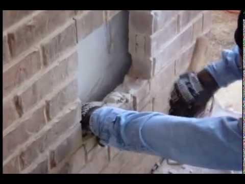 San Antonio Pet Door Installation Through Brick Wall-Finger Eleven