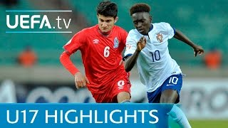 Watch the goals from the Group A match in Baku as a dominant Portug...