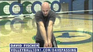 Volleyball Passing Technique