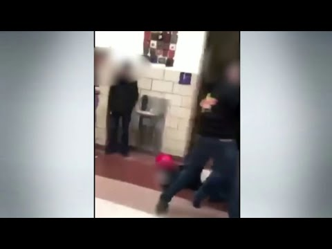Violent assault caught on camera at Fowlerville High School