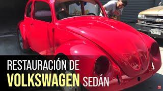 Restauración VW Sedán Mod. 2000