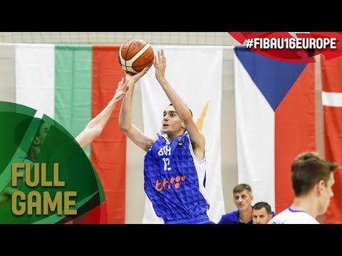 Ireland v Bosnia and Herzegovina - Full Game - FIBA U16 European Championship 2017 - DIV B