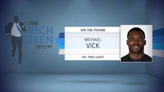 NFL Free Agent Michael Vick on Cam Newton Complaining About Hits - 11/3/16