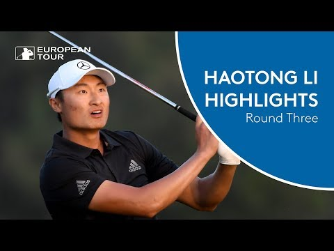 Haotong Li Highlights | Round 3 | 2018 Omega Dubai Desert Classic