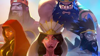 Immortals Fenyx Rising: The Lost Gods DLC - Opening Cinematic Animation (2021)