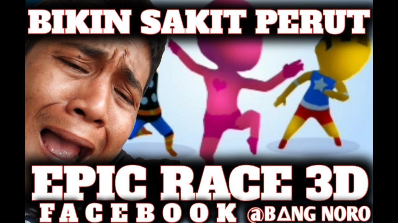 Game Lucu Bikin Ngakak❗ Sampai Sakit Perut❓ EpicRace3D
