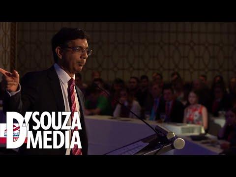 WATCH: D'Souza speaks to huge crowd of students in D.C.