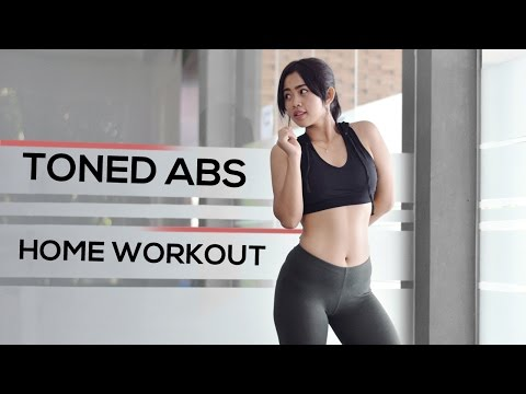 Mengecilkan Perut Bonus Perut Rata Tanpa GYM | Home Workout