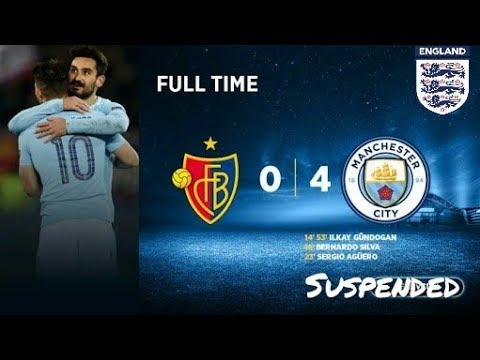 Manchester city vs basel | full match Highlights | 4-0