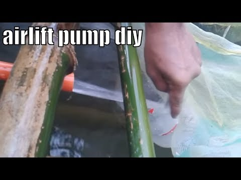 Airlift pump system test