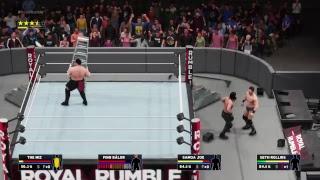 WWE 2K18 - Seth Rollins vs. Samoa Joe vs. The Miz vs. Finn Balor