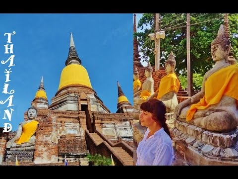 Thailand Ayutthaya, Ancient Kingdom. Views
